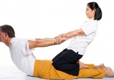 heilende Thai Yoga Massage